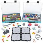 Robotikas konstruktors ar sensoriem un uzglabāšanas kastēm VEX GO Kit with Storage Boxes