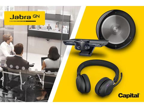Capital piedāvā Jabra produktus