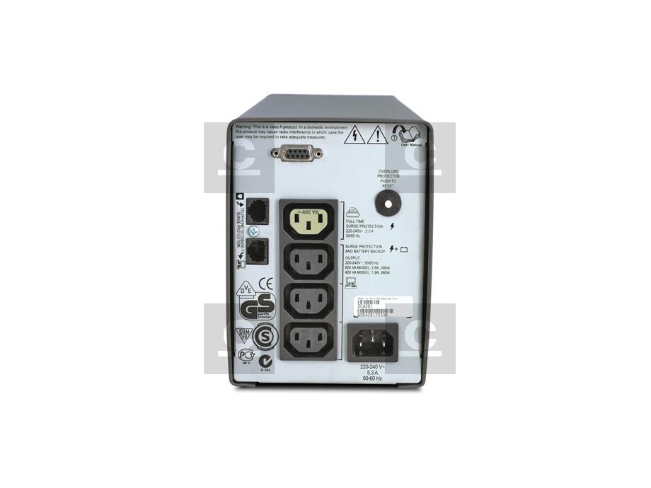 Nepārtrauktās barošanas bloks APC Smart-UPS SC 420VA 1