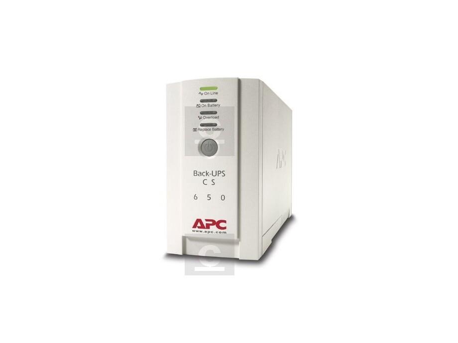 Nepārtrauktās barošanas bloks APC Back-UPS 650VA 0