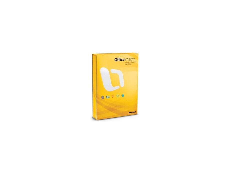 Office Mac Media Edition 2008 English VUP DVD 0