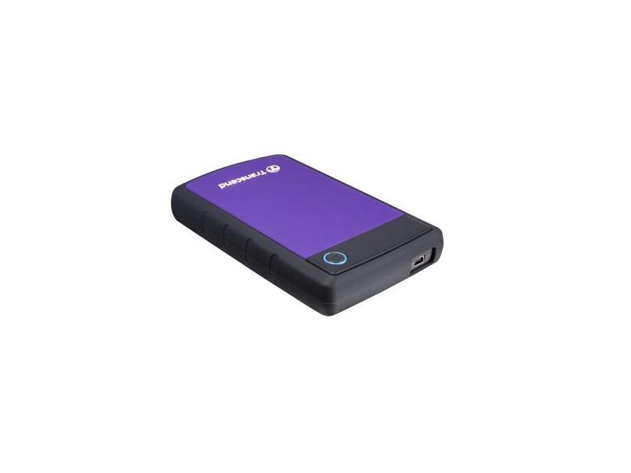 """Ārējais cietais disks Transcend StoreJet 2.5"""" 1TB USB 3.0 (Rubber Case, Anti-Shock) Purple 2"""