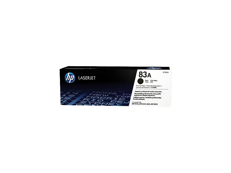 Toneris HP 83A Black Original LaserJet  Cartridge CF283. 0