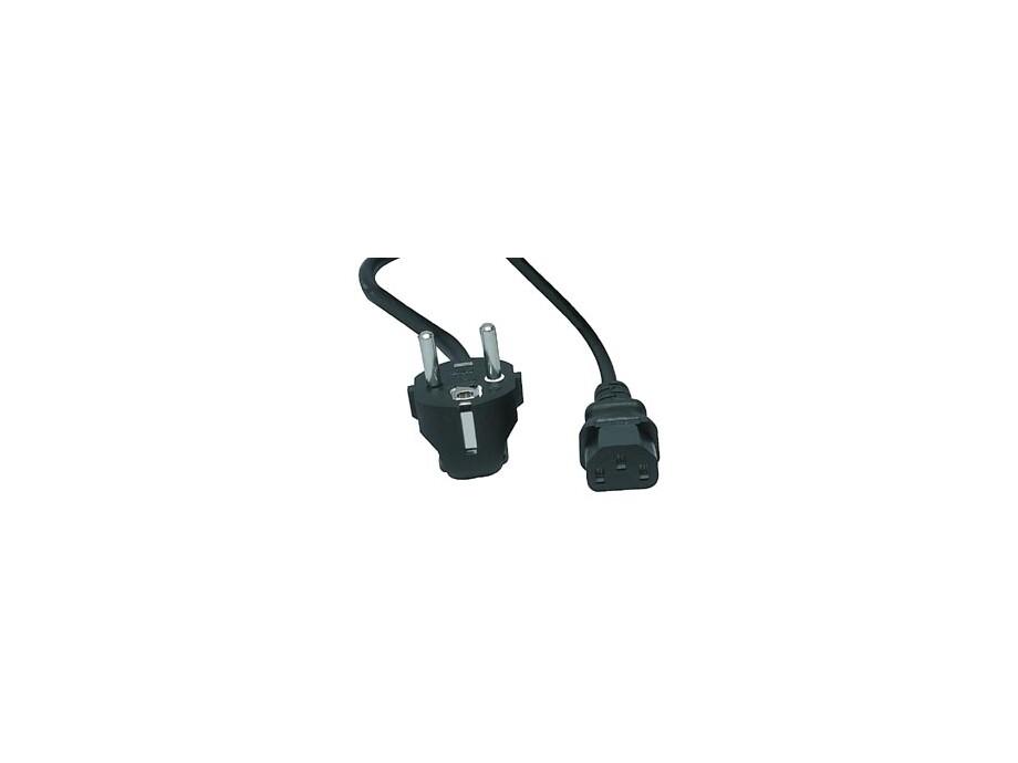 PC elektrības kabelis Dual 1x2  1.8m 0