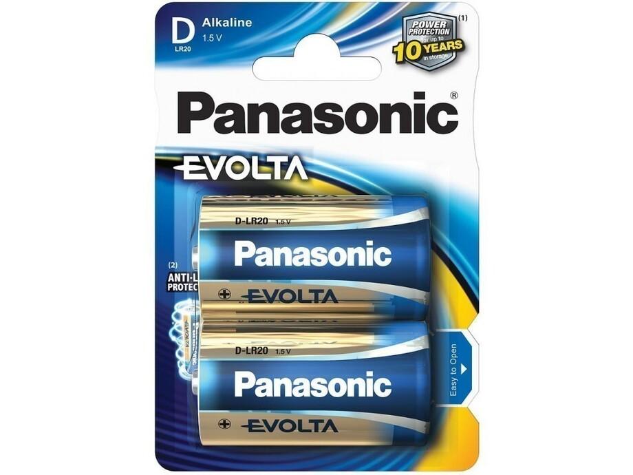 Baterija Panasonic EVOLTA 2 x DLR20 1.5V 0