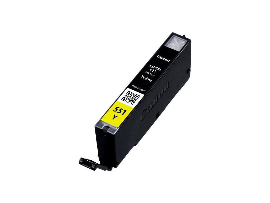 CLI-551Y (Yellow) Canon tintes kasete 0