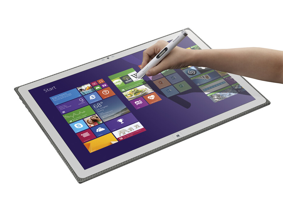 "Panasonic ToughPad UT-MB5 20"" 4K IPS i5-3437U/4GB/SSD128GB/GF745M/TPM/WiFi/BT/Pen/Win8.1Pro/3YrW 1"