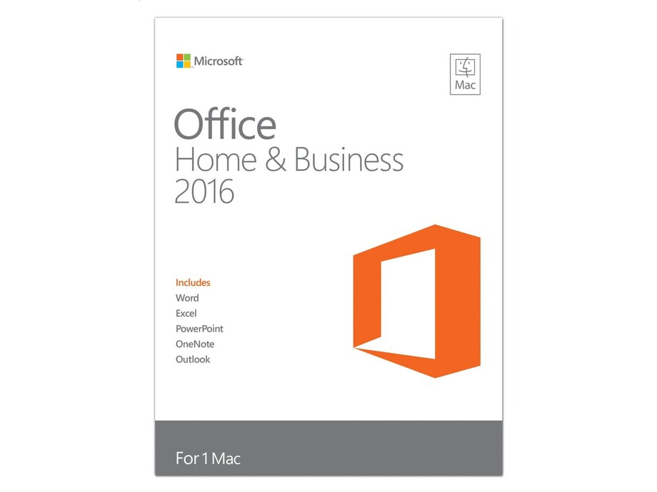 Microsoft Office Mac 2016 Home & Business Edition 1-Pack English EuroZone Medialess 0