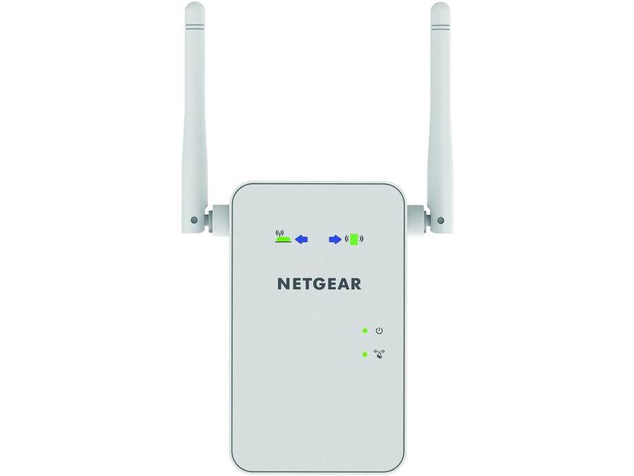 Wifi tīkla paplašinātājs Netgear AC1200 WiFi Range Extender Dual Band (2.4+5Ghz) 300+900Mbps 1