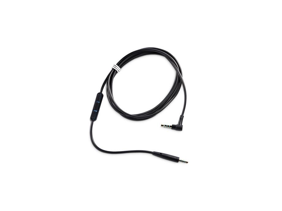 Aksesuārs Bose QuietComfort 25 vads ar mikrofonu/pulti Samsung un Android ierīcēm Melns/Zils 0