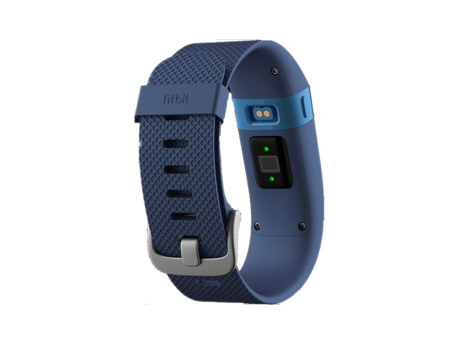 Fitnesa aproce Fitbit Charge HR, Large Zils (Blue) 1