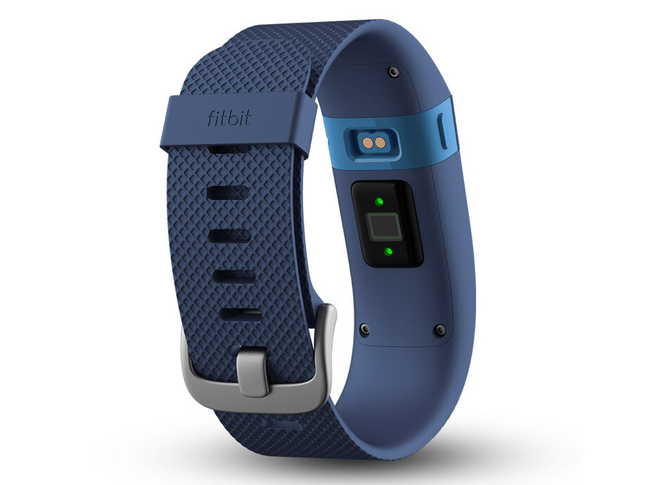 Fitnesa aproce Fitbit Charge HR, Small Zils (Blue) 1