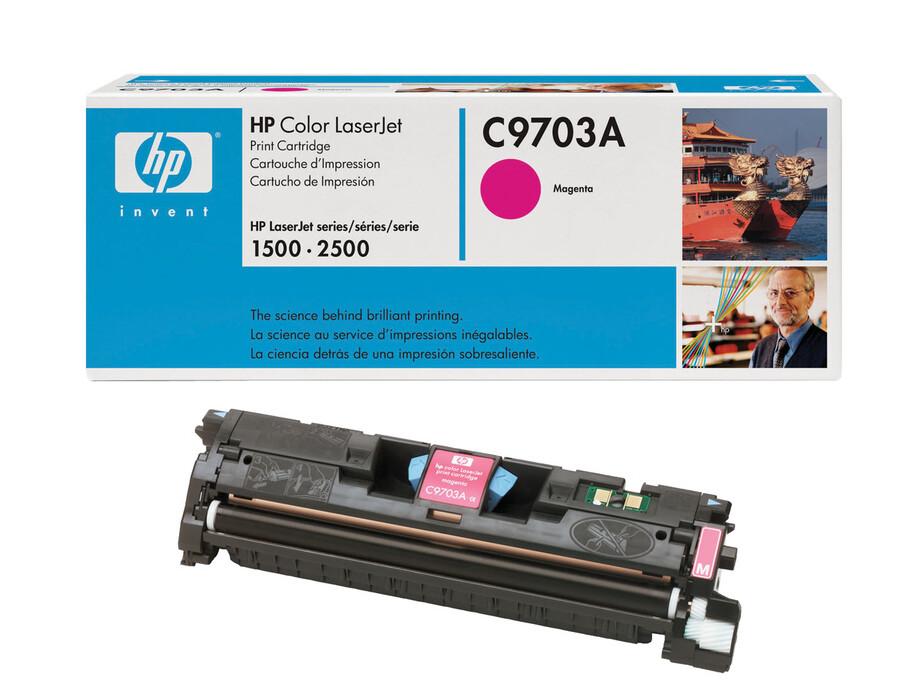C9703A HP toneris (magenta) LJ2500 color 4000 kopijām 0