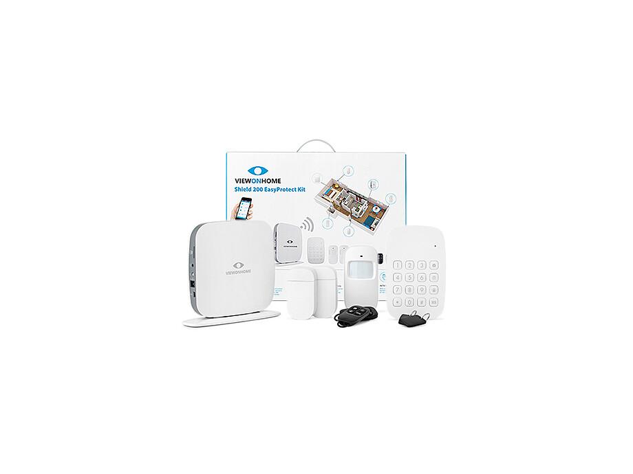 ViewOnHome Shield200 EasyProtect kit 2x PIR 2x Door/window contact Keypad 2x Remote 2x RFID tag 0