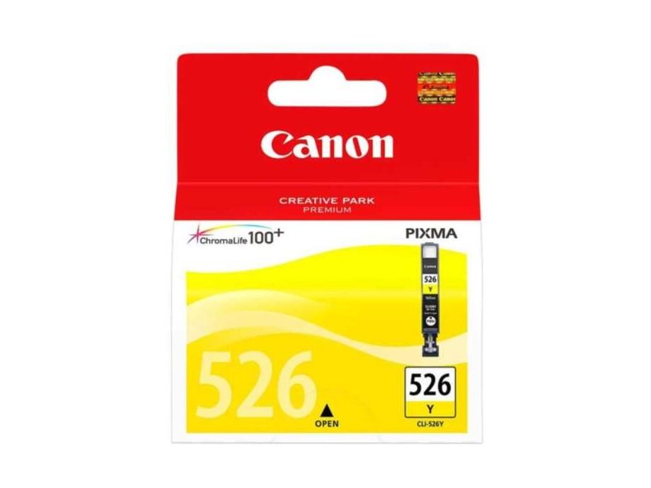 Tintes kasete Canon CLI-526 Y - Yellow 0