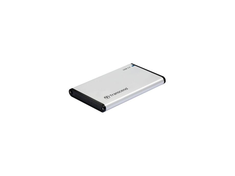 """Ārējā cietā diska korpuss Transcend StoreJet 2.5"""" - storage enclosure - SATA 6Gb/s - USB 3.0, Rubber housing 1"""