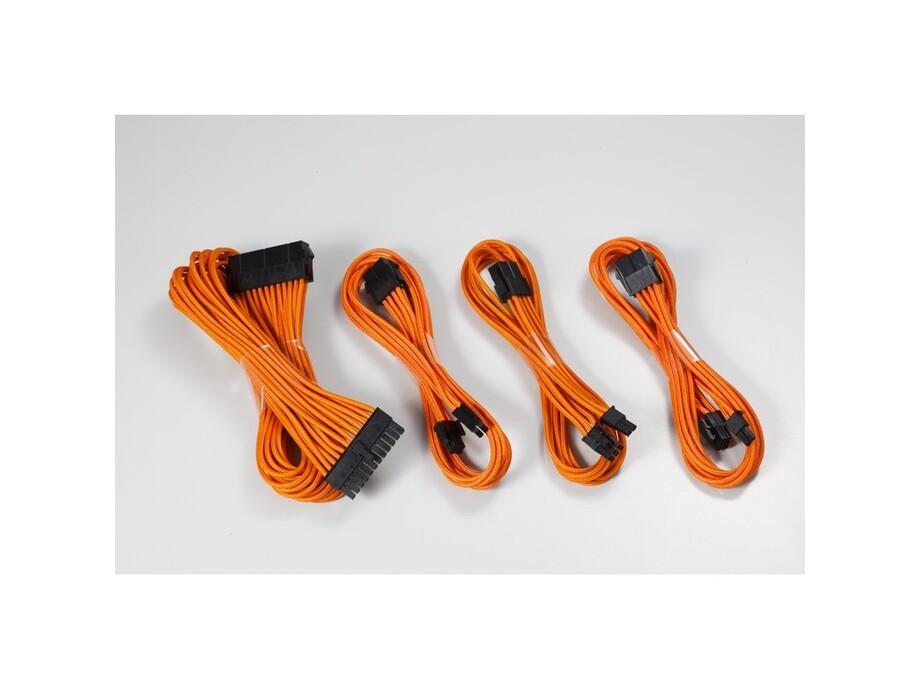 Kabelis PHANTEKS komplekts - sleeved orange 0
