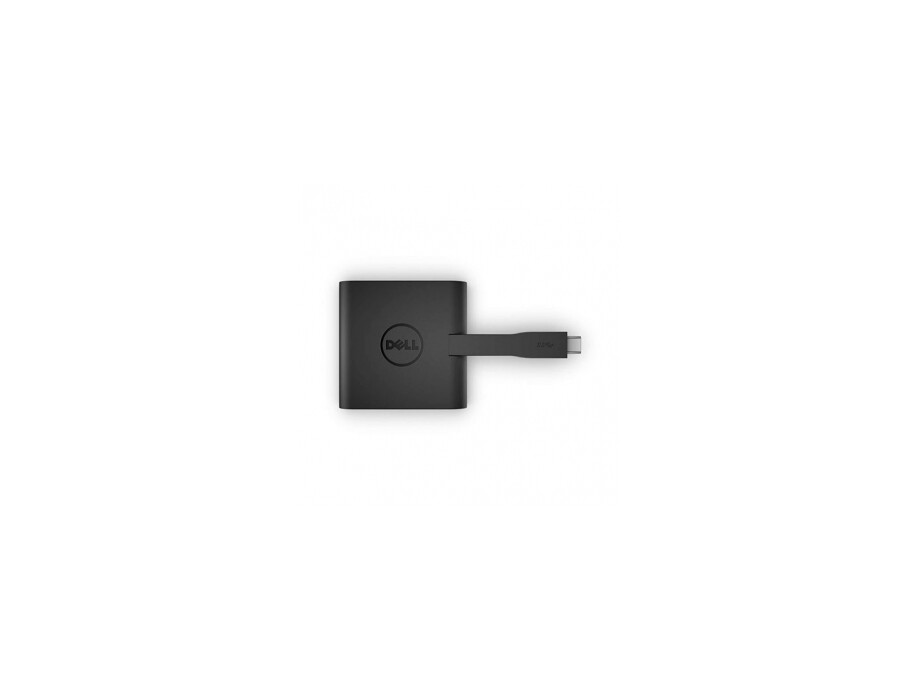Dell Adapteris DA200 USB-C to HDMI/VGA/Ethernet/USB 0