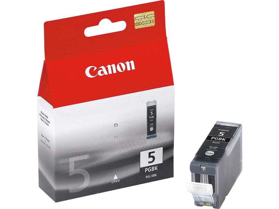 Tintes kasete Canon PGI-5BK - Black (IP4200/5200/MP500) 0