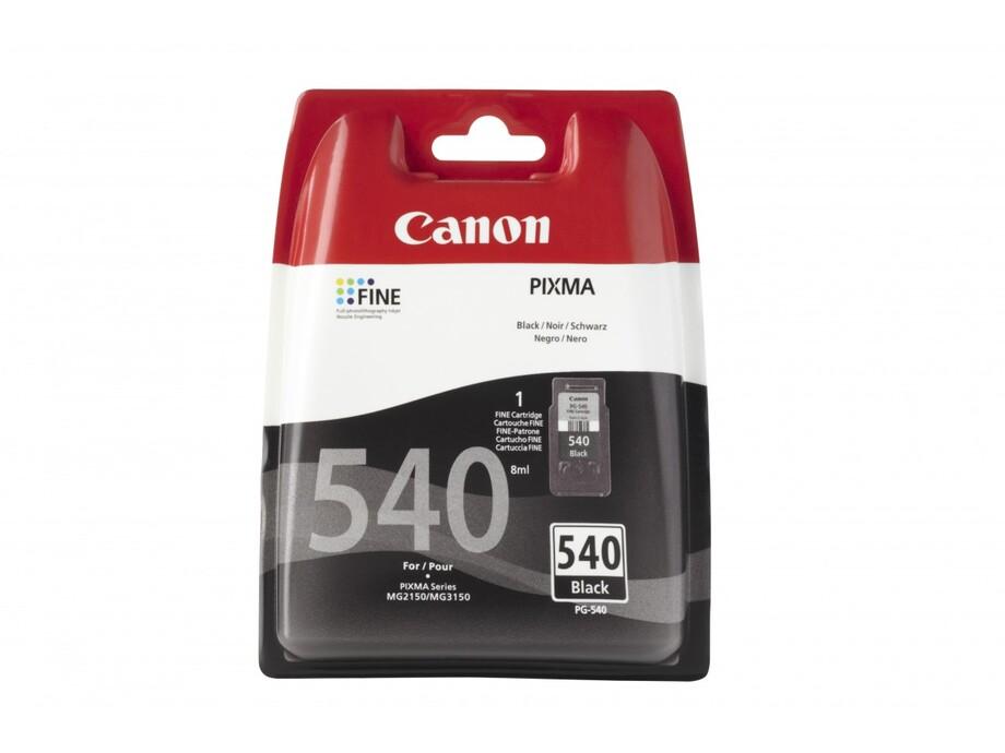 Tintes kasete Canon PG-540 - Black 0