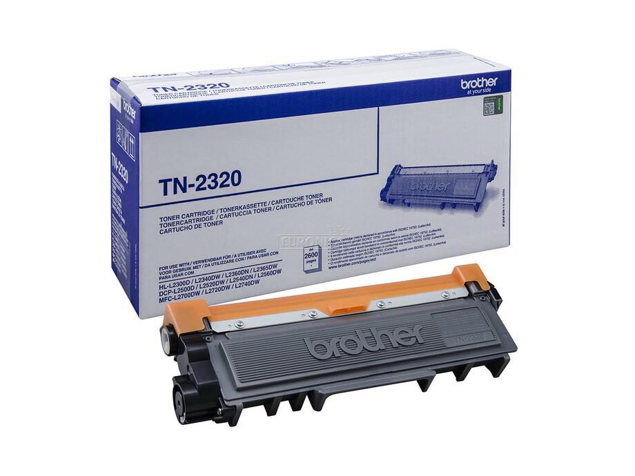 Toneris Brother TN-2320 - Black | 2600pgs (HL-L2300, DCP-L2500, MFC-L2700) 0