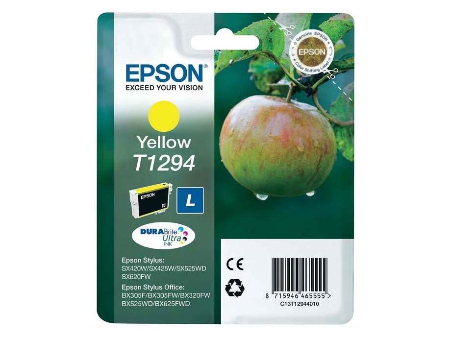 Tintes kasete Epson T1294 - Yellow  (SX425W/SX525WD/BX3) 0