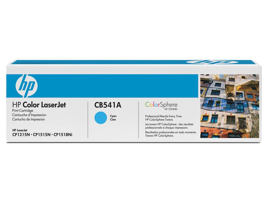 CB541A HP TONER CLJ CP1510/1210 CYAN, 1.4K PGS 0