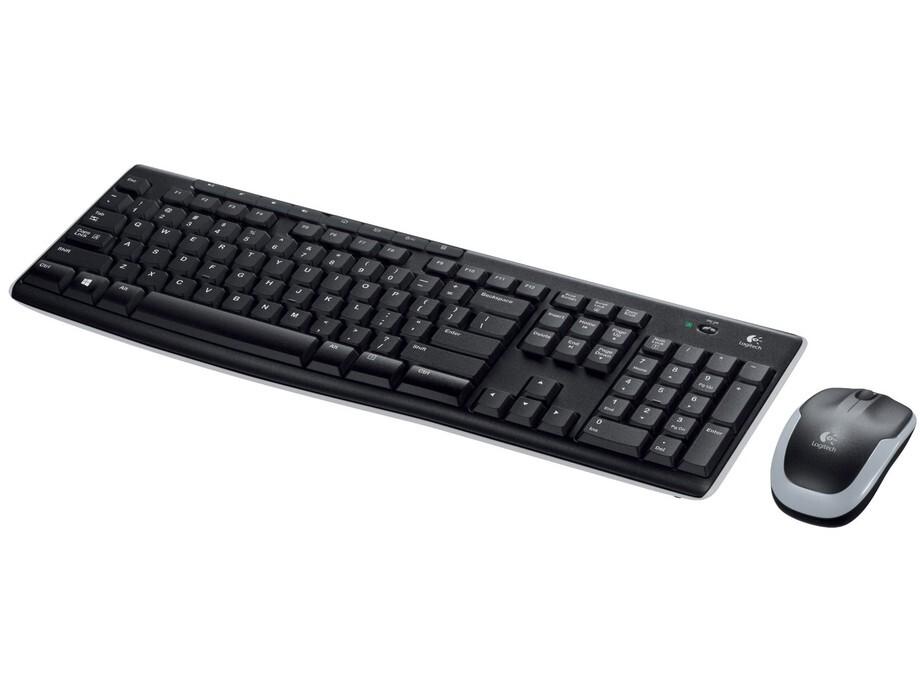 Klaviatūra Logitech Wireless Desktop MK270, RUS 0