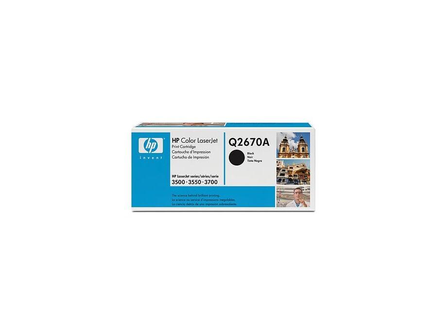 Q2670A  HP Toneris Black CLJ3500/3700 0