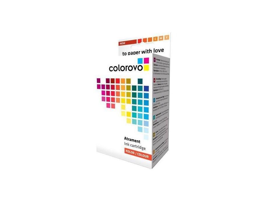 Tintes kasetne COLOROVO 8-Y | Yellow | 16 ml | Chip | Canon CLI-8Y 0