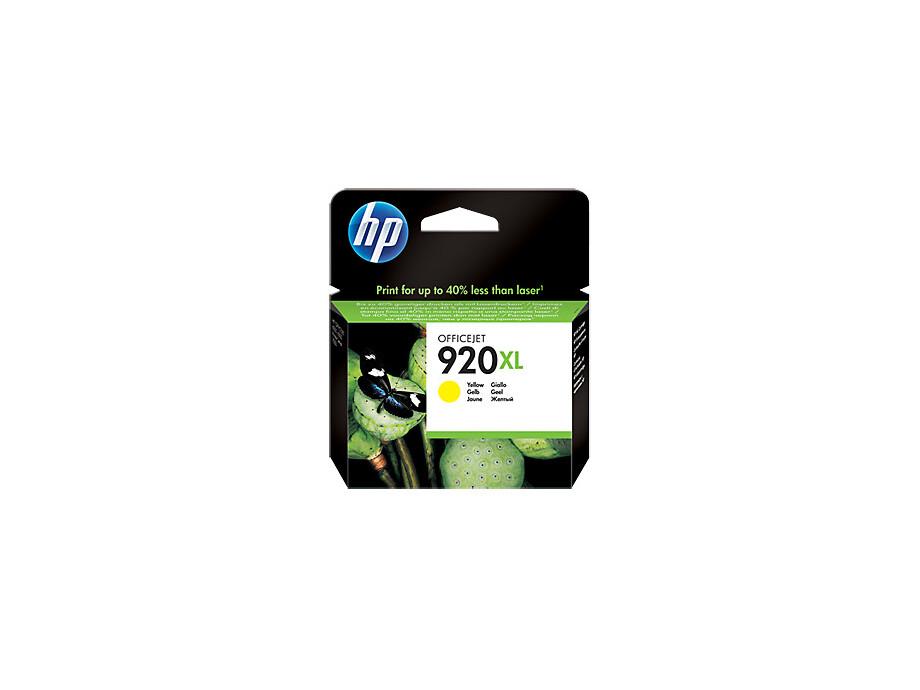 Tintes kasete HP 920XL - Yellow | 700pgs 0