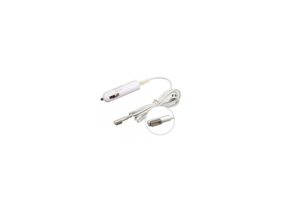 MicroSpareparts Mobile 85W MagSafe Car Adapter 0
