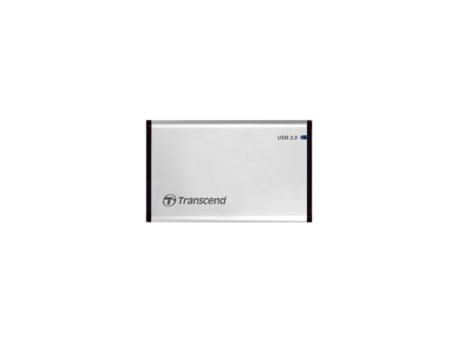 """Ārējā cietā diska korpuss Transcend StoreJet 2.5"""" - storage enclosure - SATA 6Gb/s - USB 3.0, Rubber housing 0"""