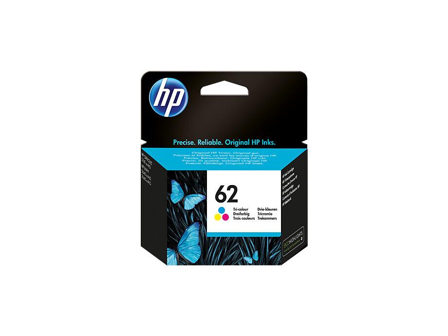 Tintes kasete HP 62 - Tri-color | 165pgs 0
