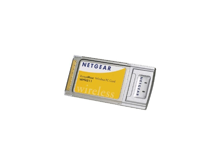 WPN511GE NETGEAR RM MIMO 108Mbps 802.11g Wireless PC Card 0