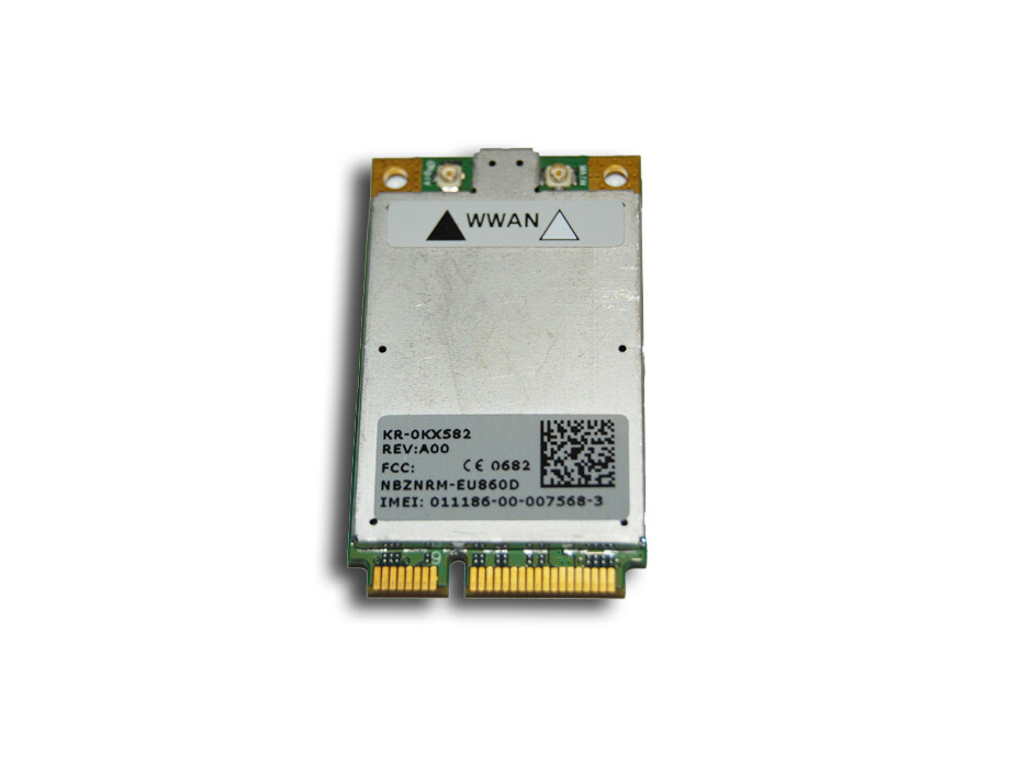 The Wireless 5520 Mobile Broadband 3G PCI Express Mini Card 0