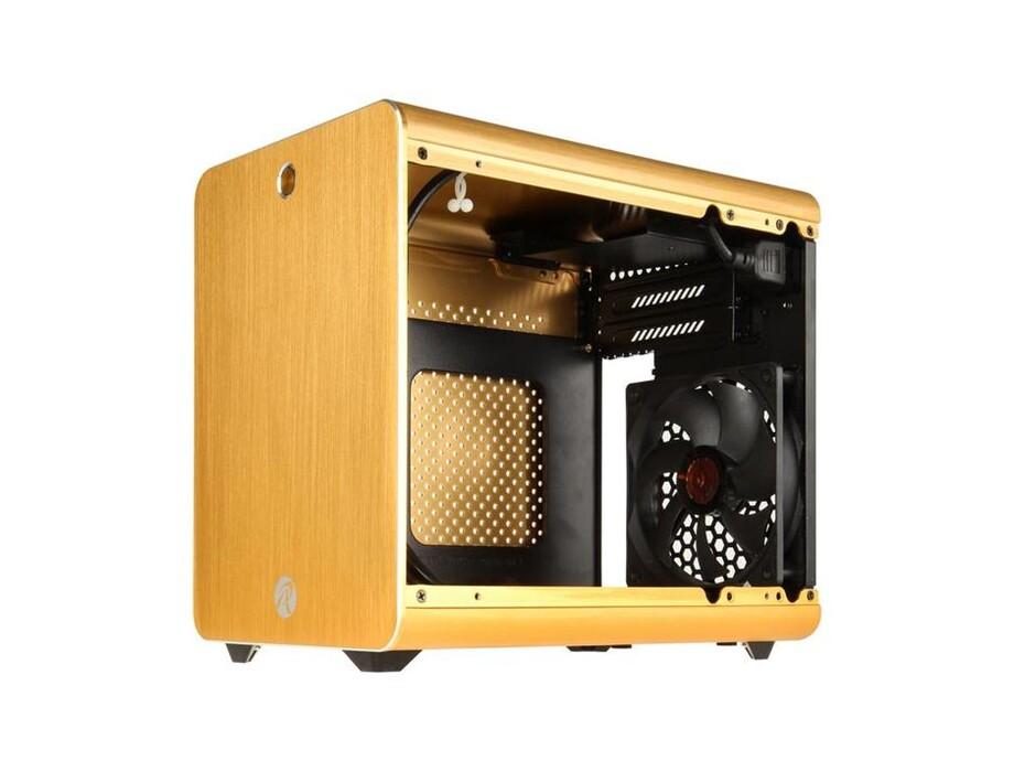 Korpuss RAIJINTEK METIS Mini-ITX Gold with Window 1