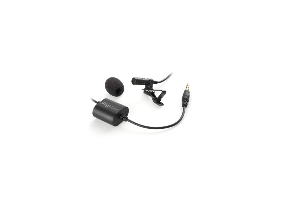 IK Multimedia iRig Mic Lav mobile lavalier with built-in monitoring capability iOs Android 1