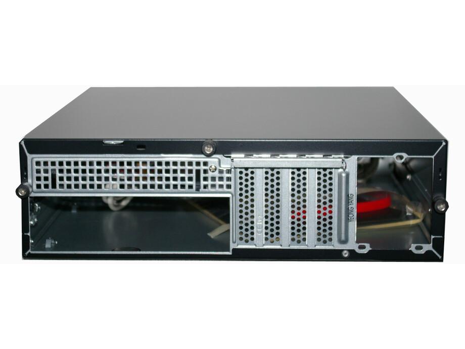 Yang IT Slim ATX korpuss YY-7301-B 250W Delta PSU melns SFF B2B 1