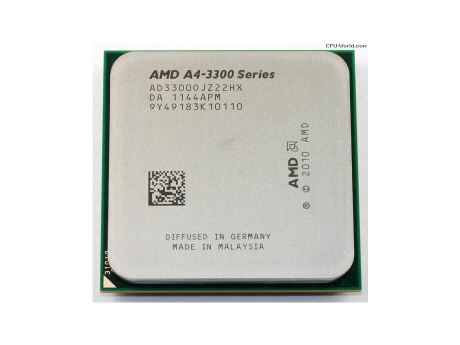 Procesors AMD APU A4 X2 3300 65W FM1 1MB 2500MHZ 1