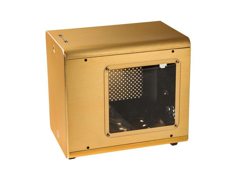 Korpuss RAIJINTEK METIS Mini-ITX Gold with Window 2