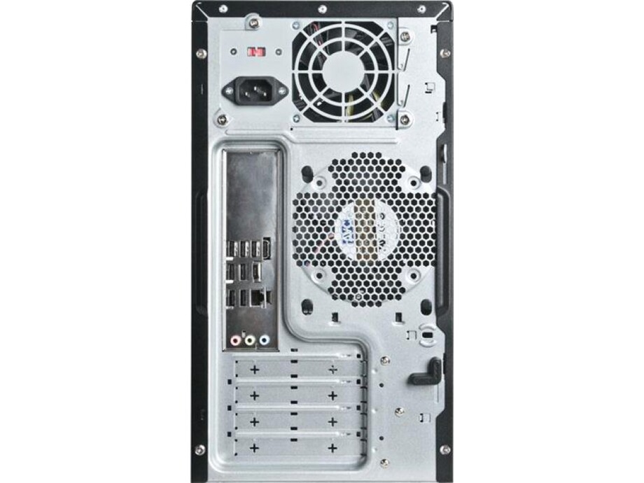 Korpuss Chenbro PC313, Tool-less, mATX, Black 1