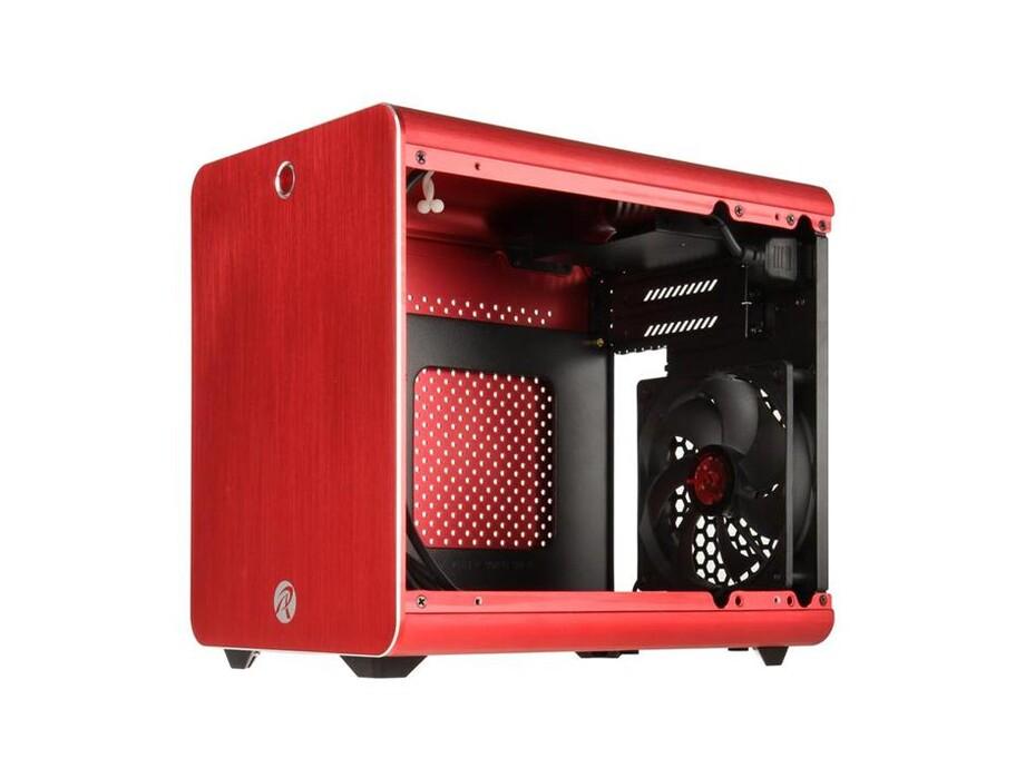 Korpuss RAIJINTEK METIS Mini-ITX Red with Window 1