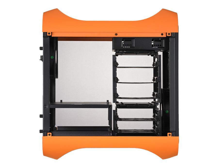 Korpuss BitFenix Prodigy Mini-ITX oranžs 2
