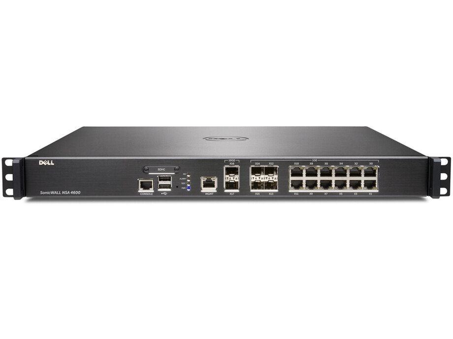 Dell SonicWALL NSA 4600 TotalSecure (1 Yr) 0