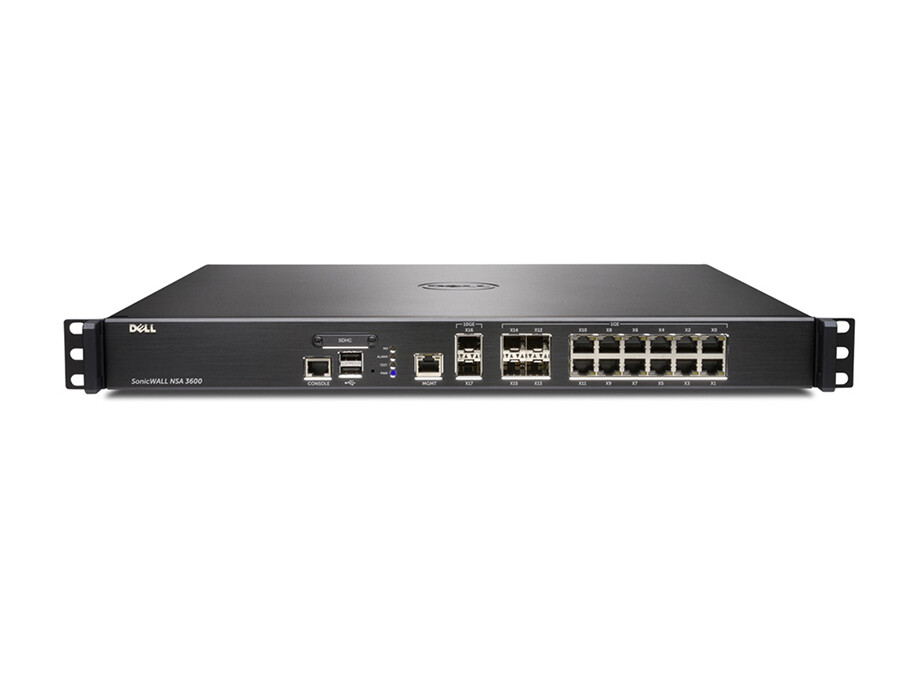 Dell SonicWALL NSA 3600 TotalSecure (1 Yr) 0