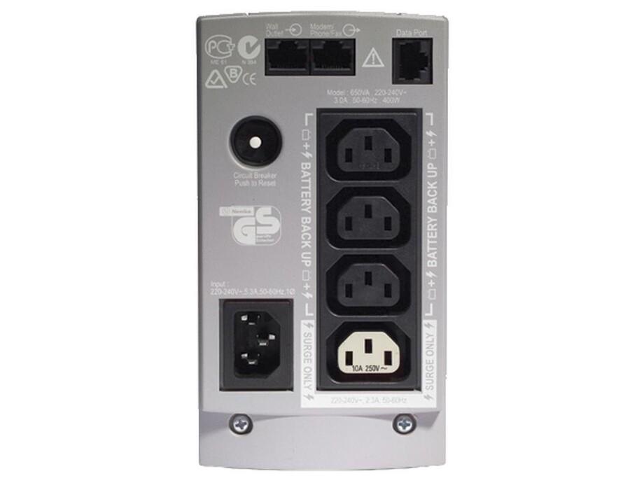 Nepārtrauktās barošanas bloks APC Back-UPS 500 1