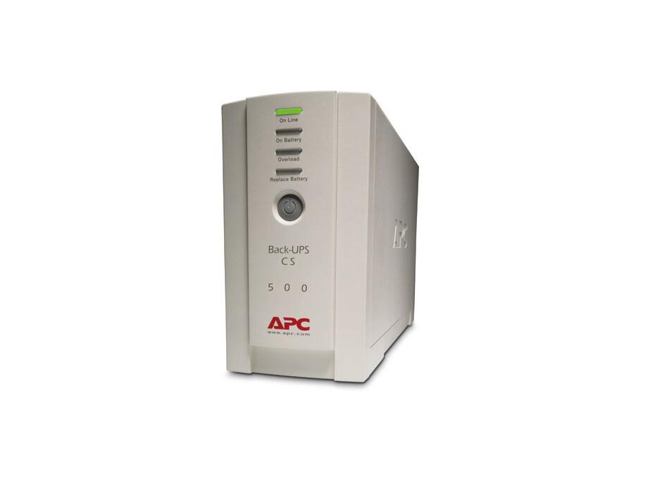 Nepārtrauktās barošanas bloks APC Back-UPS 500 0