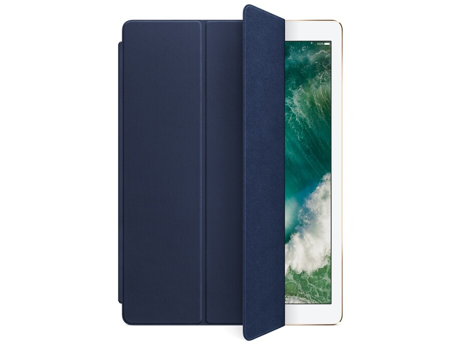 MPV22 Leather Smart Cover for 12.9-inch iPad Pro - Midnight Blue 0