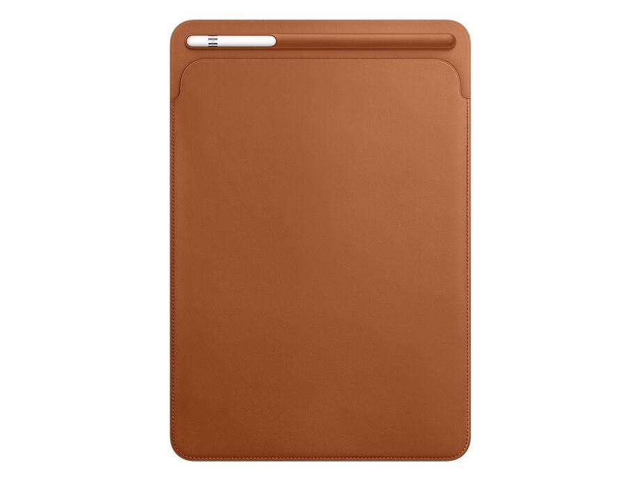 MPU12 Leather Sleeve for 10.5-inch iPad Pro - Saddle Brown 1